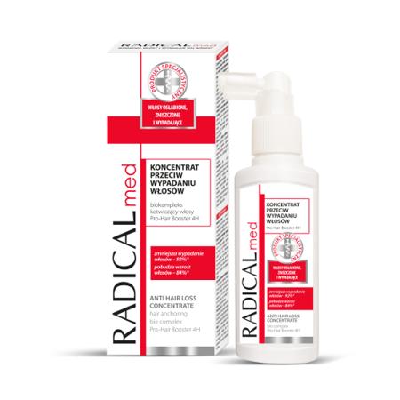 Radical Med - KONCENTRAT przeciw wypadaniu włosów, 100 ml.