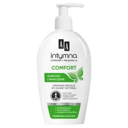 AA - Intymna - EMULSJA/PŁYN do higieny intymnej, 300 ml. Comfort
