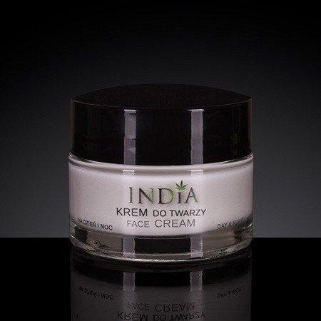 Krem do twarzy z olejem konopnym, 50 ml. India.