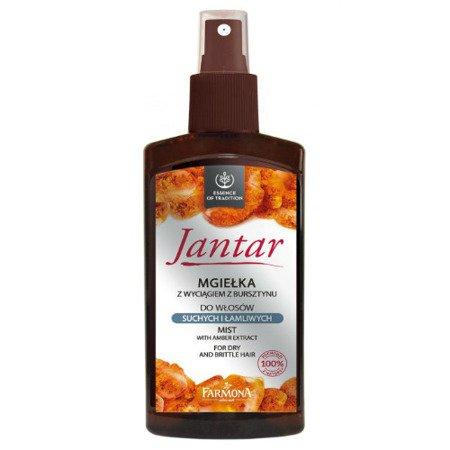 Jantar - mgiełka do włosów suchych i łamliwych z wyciągiem z bursztynu, 200 ml.