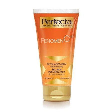 Perfecta, Fenomen C - ŻEL/MUS peelingujący do mycia twarzy, 150 ml.