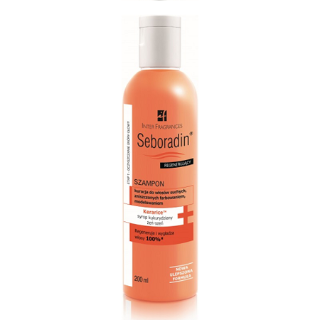 Seboradin - Regenerujący - SZAMPON, 200 ml.