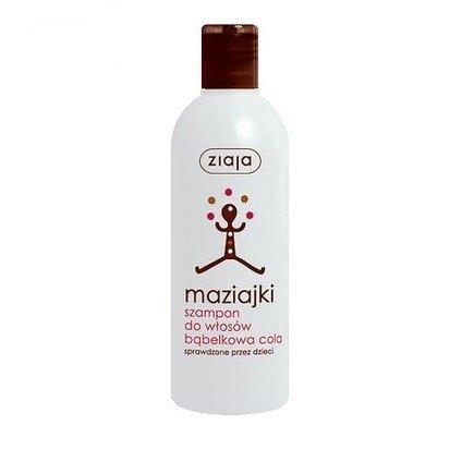 Ziaja - Maziajki - Łagodny SZAMPON o aromacie Coli polecany dzieciom po 3 roku życia, 300 ml.