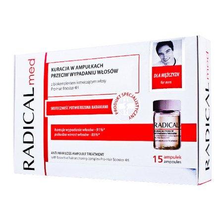 Radical Med dla mężczyzn, 15 ampułek.