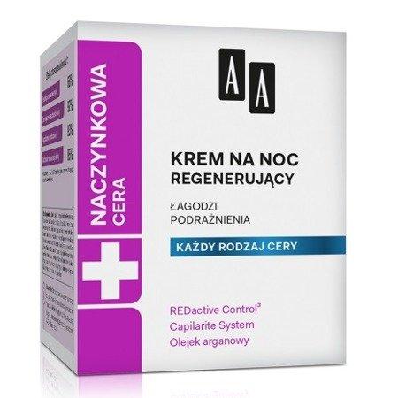 AA - Cera naczynkowa - KREM regenerujący na noc 50 ml.