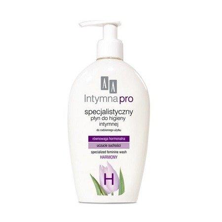 AA Intymna PRO - Specjalistyczne PŁYNY do higieny intymnej dla kobiet, 200 ml. Harmony