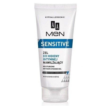 AA - MEN Sensitive - PŁYN do higieny intymnej dla mężczyzn, 200 ml.