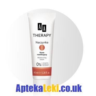 AA Therapy - Cera naczynkowa - KREM nawilżający na DZIEŃ, 40 ml.