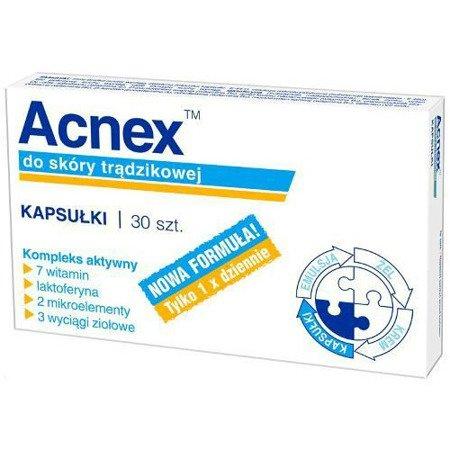 Acnex, 30 kapsułek.