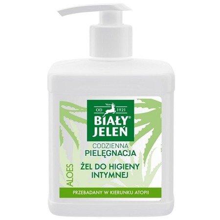 Biały Jeleń - ŻEL do higieny intymnej, aloes, 500 ml.