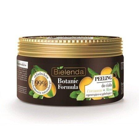 Bielenda Botanic Formula Cytrynowiec+Mięta, PEELING do ciała, 350 ml.