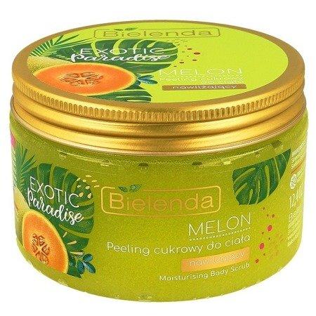 Bielenda Exotic Paradise, PEELING cukrowy Melon, 350 g.