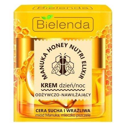 Bielenda Manuka Honey, KREM odżywczo-nawilżający, 50 ml.