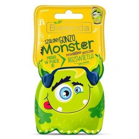 Bielenda Monster, MASECZKA w płacie SZALONY GONZO, 1 sztuka