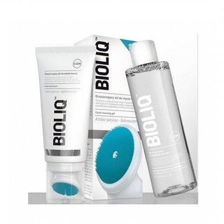 Bioliq Clean - ZESTAW; żel i płyn micelarny do oczyszczania twarzy, 125 + 200 ml.