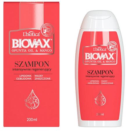 Biovax - Opuntia Oil & Mango - SZAMPON, 200 ml.