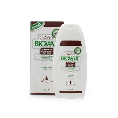 Biovax - SZAMPON intensywnie regenerująca do włosów słabych ze skłonnością do wypadania. opakowanie 200 ml.