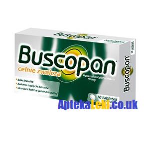 Buscopan 10 mg. 20 tabletek.