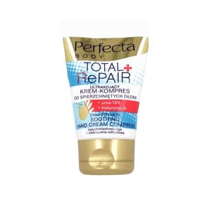DAX - Perfecta BODY - Total Repair Ultrakojący krem-kompres do spierzchniętych dłoni, 50 ml.