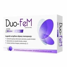 Duo-FeM - system Dzień i Noc, 56 tabletek.