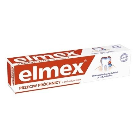 Elmex - PASTA do zębów przeciw próchnicy 75 ml.