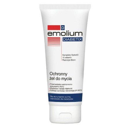 Emolium D DIABETIX - ochronny żel do mycia, 200 ml.