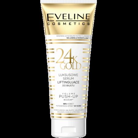 Eveline 24K GOLD - Luksusowe SERUM liftingujące do biustu, 250 ml.