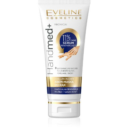 Eveline Hand Med - hialuronowy krem-maska do rąk, 100 ml