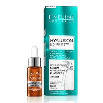 Eveline - Hyaluron Expert - SERUM wypełniające zmarszczki, 18 ml.