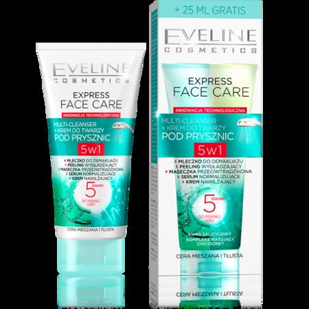 Express Face Care - cera mieszana i tłusta, 100 ml.