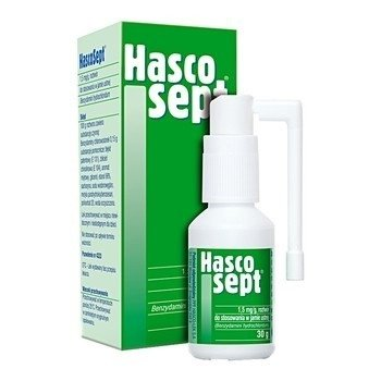 Hascosept - ATOMIZER/SPRAY,  30 ml.