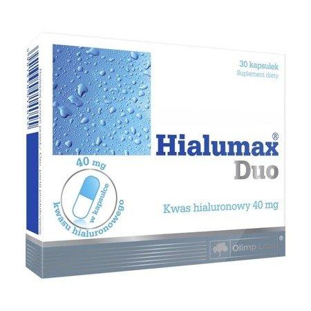 Hialumax Duo - kwas hialuronowy 40 mg, 30 kapsułek.(Olimp)