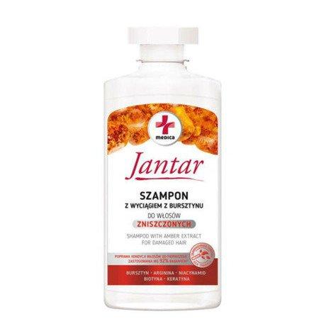 Jantar Medica Szampon z wyciągiem z Bursztynu, 330 ml.