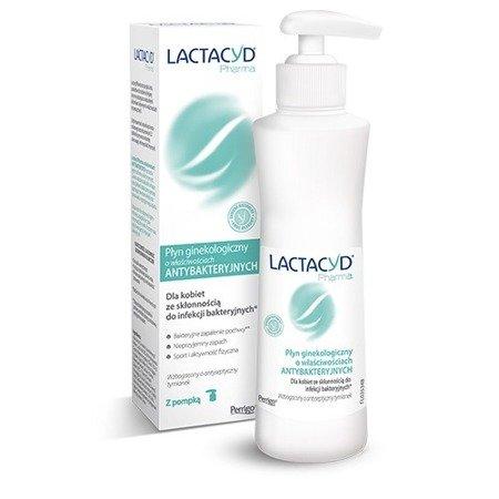 Lactacyd Pharma - PŁYN ginekologiczny OCHRONNY, 250 ml. z pompką.