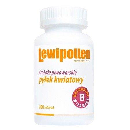 Lewipollen - Drożdże piwowarskie, 200 tabletek