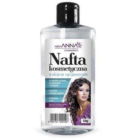 Nafta kosmetyczna - Z olejem rycynowym, 160 ml.(Anna)
