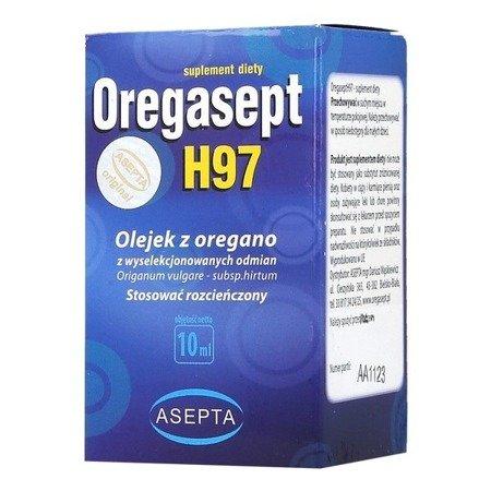 Oregasept H97 - OLEJEK z oregano, 10 ml.