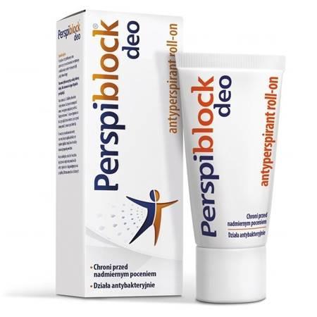 Perspiblock Deo - antyperspirant roll-on, 50 ml.