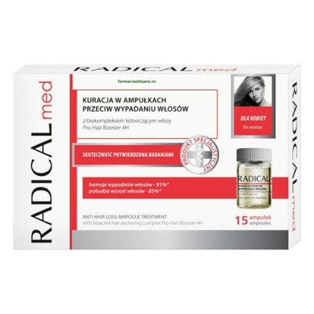 Radical Med dla kobiet, 15 ampułek.