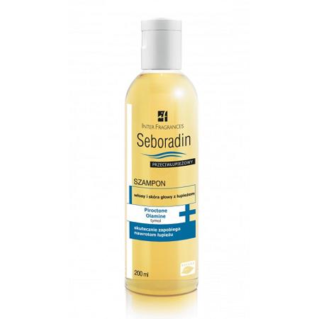 Seboradin - Przeciwłupieżowy - SZAMPON, 200 ml.