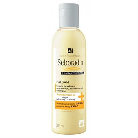 Seboradin - Z naftą kosmetyczną - BALSAM, 200 ml.