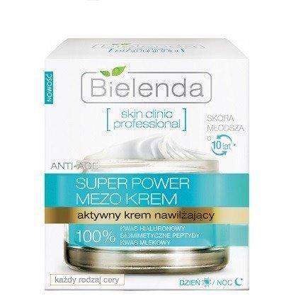 Skin Clinic Professional - KREM nawilżający na DZIEŃ i NOC, 50 ml.