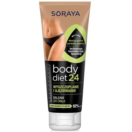 Soraya - Body Diet 24 - BALSAM wyszczuplający i ujędrniający, 200 ml.