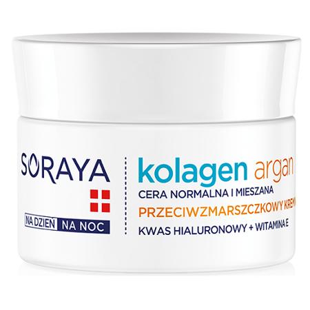 Soraya - Kolagenowa Pielęgnacja - KREM nawilżający na DZIEŃ i NOC, 50 ml.