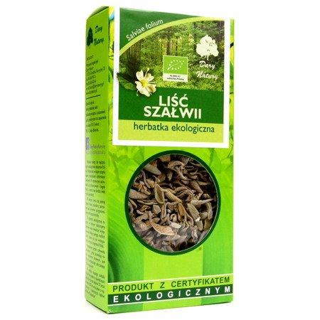 Szałwia - liść szałwii EKO, 25 g.