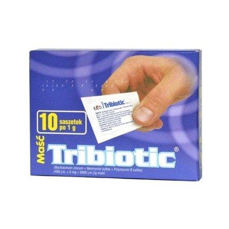 Tribiotic - MAŚĆ antybiotykowa, 1 saszetka.