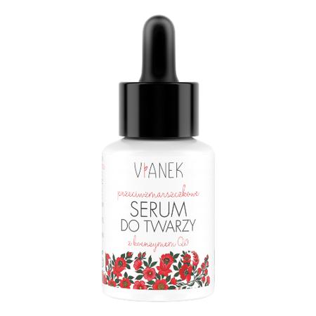 Vianek Przeciwzmarszczkowe serum do twarzy, 30 ml