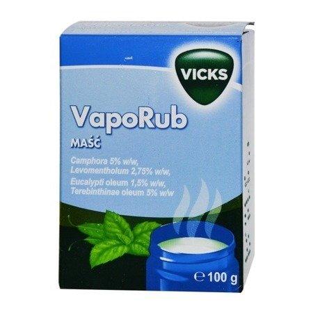 Vicks VapoRub - MAŚĆ, 100 g.