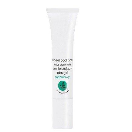 Ziaja - Bio-Żele - ŻEL pod oczy i na powieki z szałwią przeciw obrzękom, 15 ml.