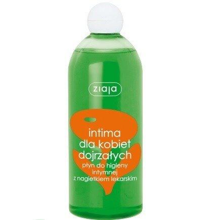 Ziaja - Intima - Ziołowy PŁYN do higieny intymnej z wyciągiem z NAGIETKA LEKARSKIEGO, 500 ml.